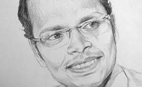 sketching artist kamal nishad