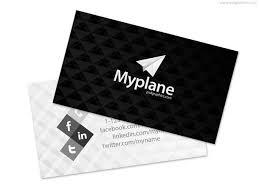 black and white business card template psd u2013 over millions vectors