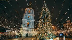 national tree lighting ceremony national christmas tree lighting ceremony in kiev ukraine