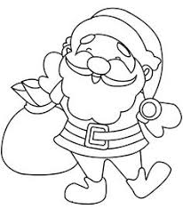 funny santa claus coloring pages christmas coloring pages