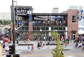 blatt beer and table menu pictures of the outside seating at the blatt beer table in omaha