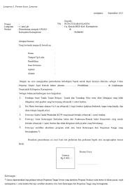 contoh surat lamaran kerja dengan cq lowongan cpns di pemerintah kabupaten karangasem