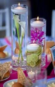 Centerpieces For Table Not With Flowers But Paper Lanterns And Led Tealights For