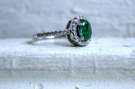 vintage emerald engagement rings engagement ring with emerald center