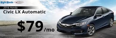 lease a honda civic 2016 honda civic lease special scottsdale arizona right honda