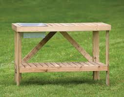 Outdoor Potters Bench Potting Bench