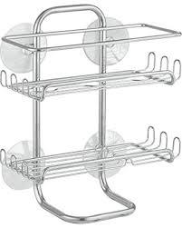 Bathroom Caddies Shower Amazing Deal On Interdesign Classico Suction Bathroom Caddy