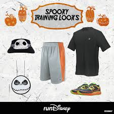 show your halloween disney style during rundisney training