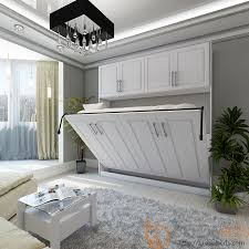 Build Twin Murphy Bed Horizontal Metropolitan Murphy Bed With Top Hutch Horizontal Bed