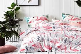 Adairs Bedding 12 Fresh And Fabulous Flamingo Homewares Finds