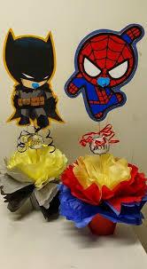 batman baby shower decorations s creations baby shower theme centerpieces baby shower