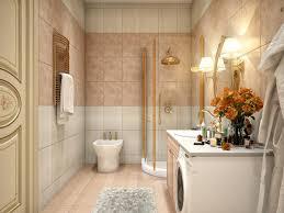 modern bathroom tile decor with decorative animal print tile decor