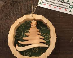 handmade ornaments made from recycled by sawfamilycreations