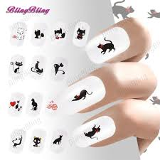 online buy wholesale cat nail stickers from china cat nail