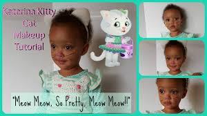halloween series toddler katarina kitty cat makeup youtube