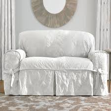 White Slipcovered Sofa by Sofas U0026 Sectionals Shabby Chic White Slip Covered Sofa Ikea
