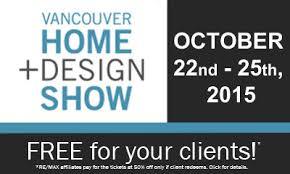 Vancouver home design show free tickets – House style ideas
