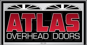 Atlas Overhead Doors Logo Design Custom Logo Graphic Design