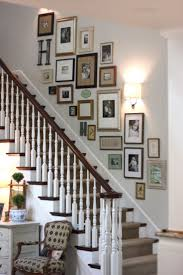 gallery wall ideas compact stair wall decor 80 staircase wall decorating ideas