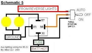 auxillary reverse lights wiring question pirate4x4 com 4x4 and