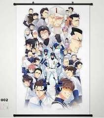 home decor japan anime ace of diamond sawamura eijun home decor japan poster wall