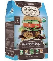 organic homestyle burger