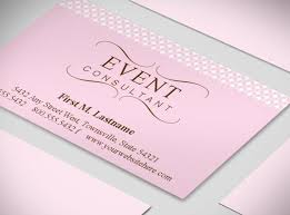 wedding event coordinator event organizer business card wedding planner business cards event