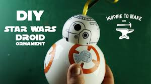 wars the awakens bb 8 droid ornament