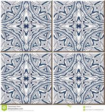 Moroccan Pattern Art Moroccan Wall by Vintage Seamless Wall Tiles Of Aboriginal Blue Round Curve Outline