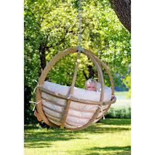 siege suspendu jardin fauteuil suspendu jardin globo chair sans housse 121x118cm amazonas