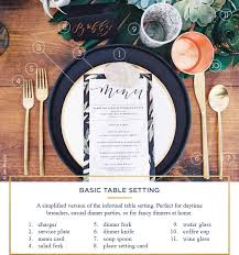 Casual Table Setting Table Setting Rules A Simple Guide For Every Occasion Ftd Com