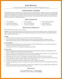 Educator Resume Templates Teacher Resume Format Teacher Resume Format For Freshers Teacher