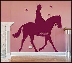 Girls Horse Themed Bedding by With Horse Silhouette Wall Art Google Search For