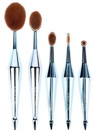 new rockstar 5pcs makeup brush set teal lavaneni