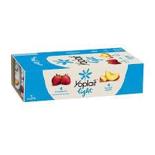 yoplait light yogurt ingredients yoplait light fat free yogurt strawberry harvest peach 48 oz 8 ct