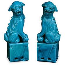 blue foo dogs blue foo dogs