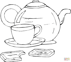 Cup Coloring Pages Free Printable Pictures Cup Coloring Page