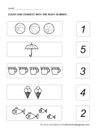 number worksheet preschool worksheets