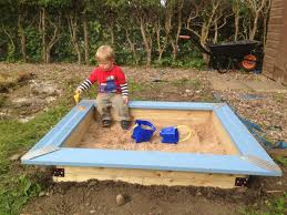 How To Build A Tent How To Build A Children U0027s Sandpit B U0026q Diy Challenge The
