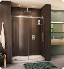 Fleurco Shower Door Fleurco Novbf60 Novara Bowfront Sliding Curved Glass Door And