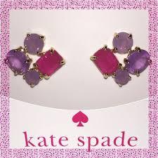 rhodium earrings sensitive ears take 30 kate spade earrings nwts nwt kate spade