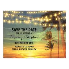 save the date postcard sunset save the date postcards zazzle