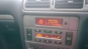 peugeot 406 coupe 2003 demonstration of peugeot 406 sat nav disk in operation youtube