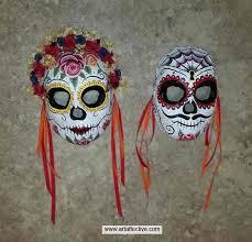 sugar skulls for sale day of the dead sugar skull masks for sale