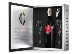 chagne gift sets for decanter