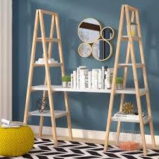 Triangle Shaped Bookcase Desk Bookcase Combo Wayfair