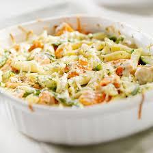 cuisine pates recette gratin de pâtes saumon et brocolis