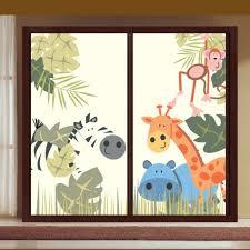 bilder für kinderzimmer fensterbilder kinderzimmer niedliche motive badezimmer ideen