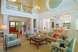 Two Story Great Room Living Room Traditional With Interior White - Two story family room decorating ideas