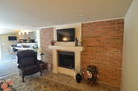 transitional fireplace renovation in cherry hill nj next level